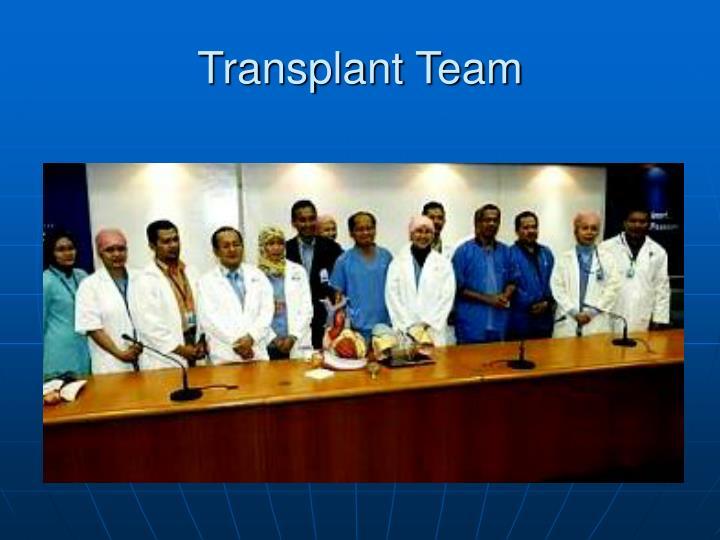 Transplant Team