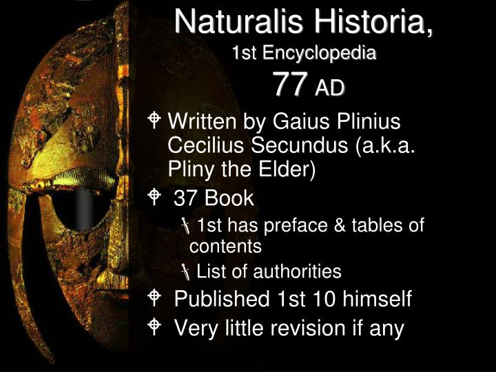 Naturalis Historia,