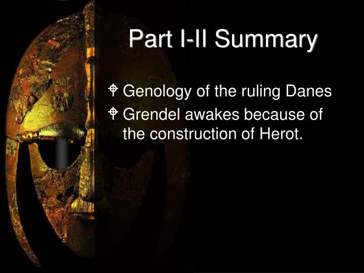 Part I-II Summary