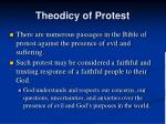 theodicy of protest