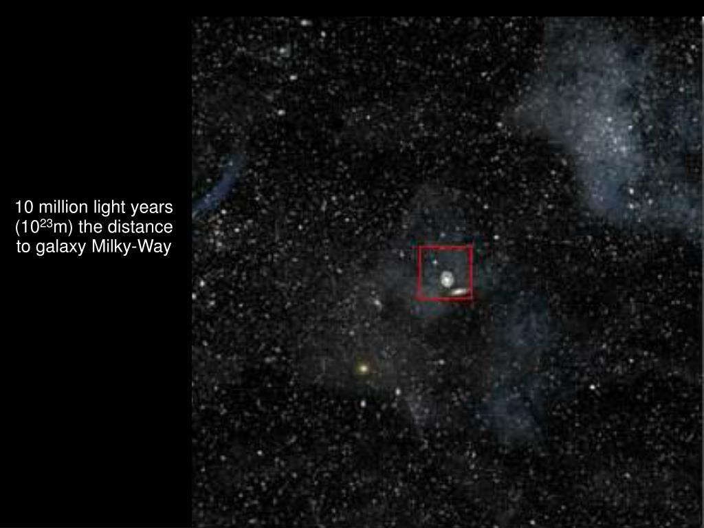 10 million light years (10