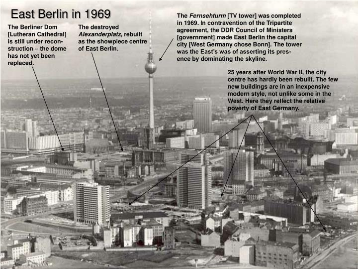 East Berlin in 1969
