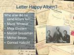 letter happy albert4