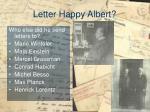 letter happy albert5