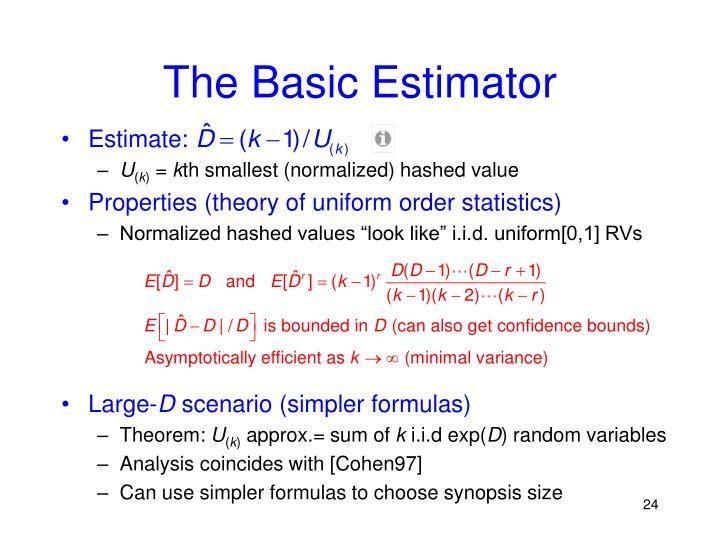 The Basic Estimator