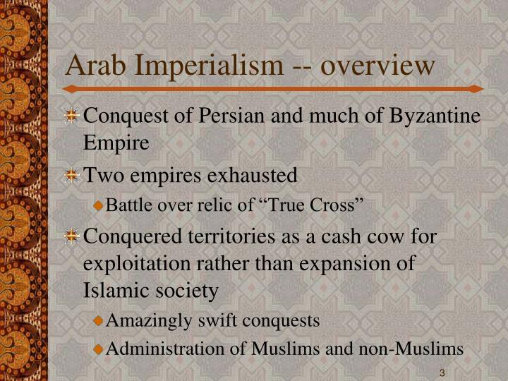 Arab imperialism overview
