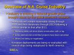 overview of n a cruise industry