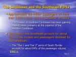 the caribbean and the southeast ports