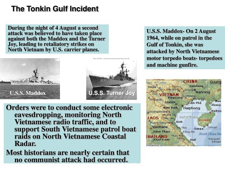 The Tonkin Gulf Incident