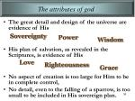 the attributes of god5