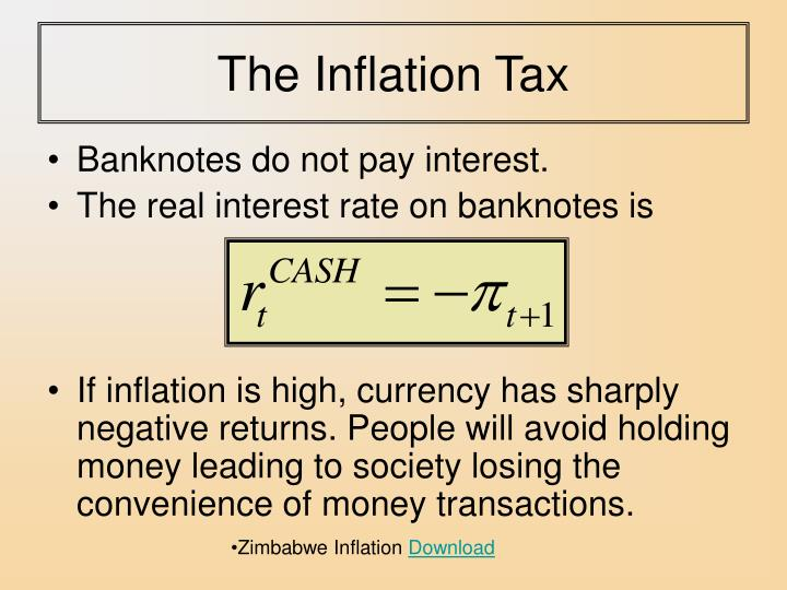 The Inflation Tax