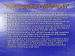 moving southern water north