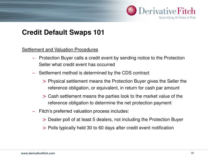 Credit Default Swaps 101