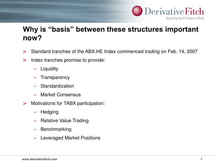 """Why is """"basis"""" between these structures important now?"""