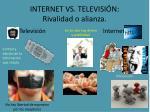 internet vs televisi n rivalidad o alianza