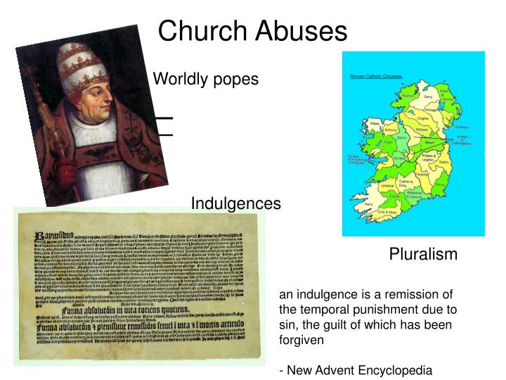 Church abuses