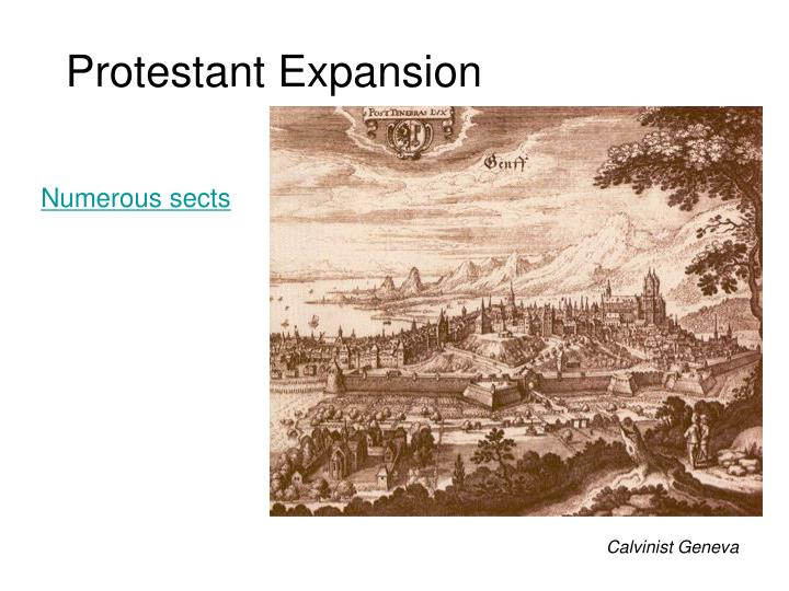 Protestant Expansion