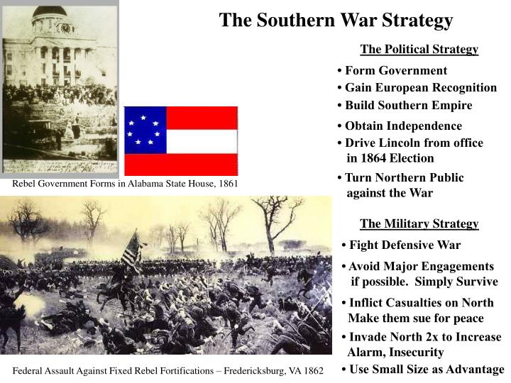 The Southern War Strategy