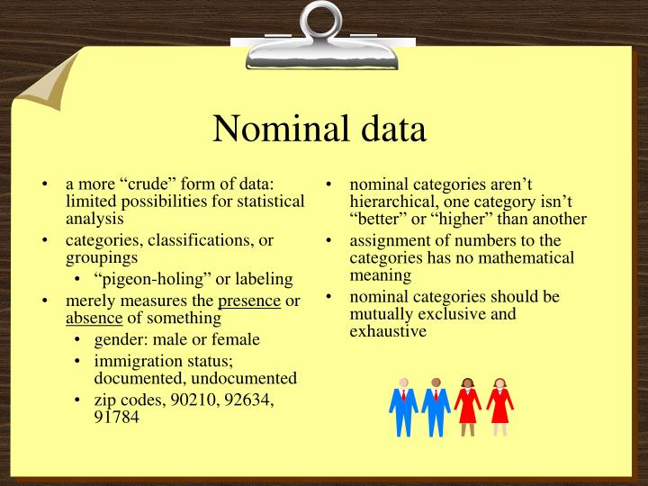 """a more """"crude"""" form of data: limited possibilities for statistical analysis"""