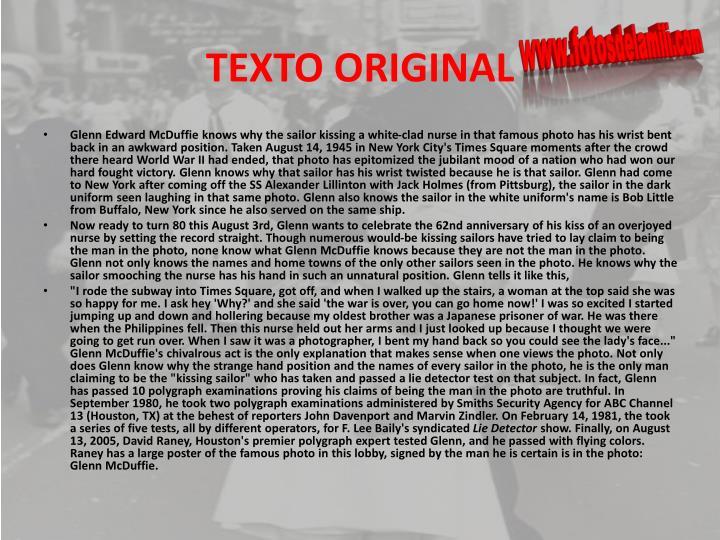 TEXTO ORIGINAL