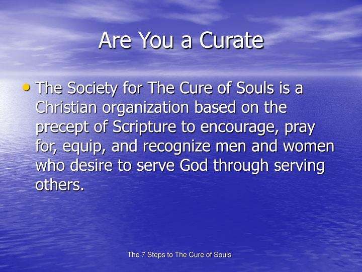 Are You a Curate