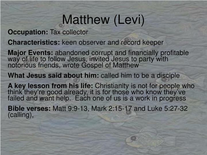 Matthew (Levi)