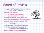 board of review