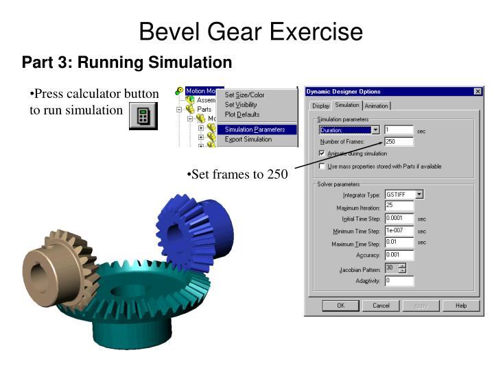 Bevel Gear Exercise
