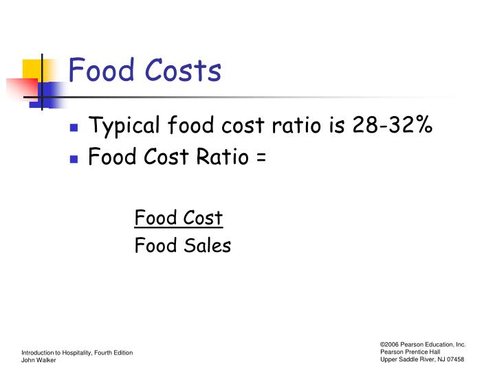 Food Costs