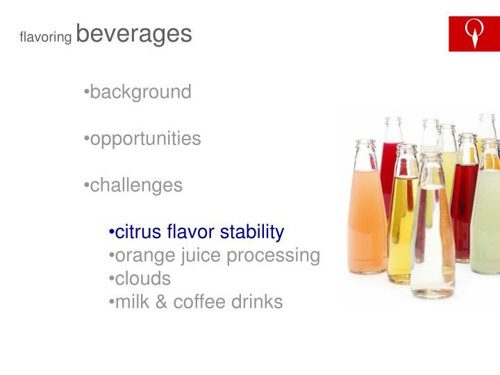 flavoring