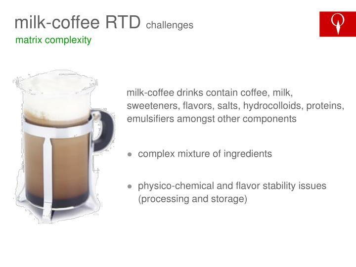 milk-coffee RTD