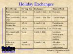 holiday exchanges1