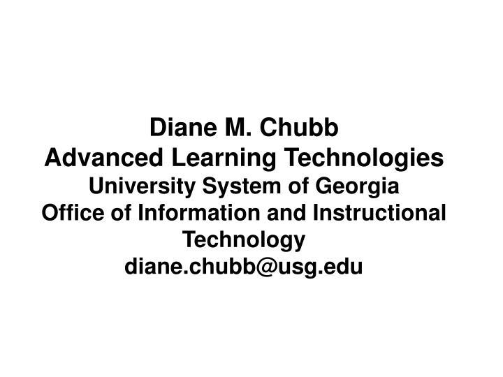 Diane M. Chubb