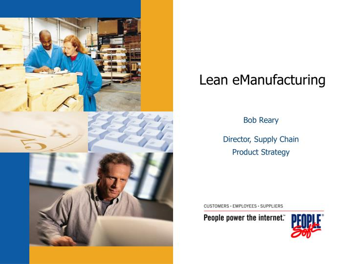 Lean emanufacturing