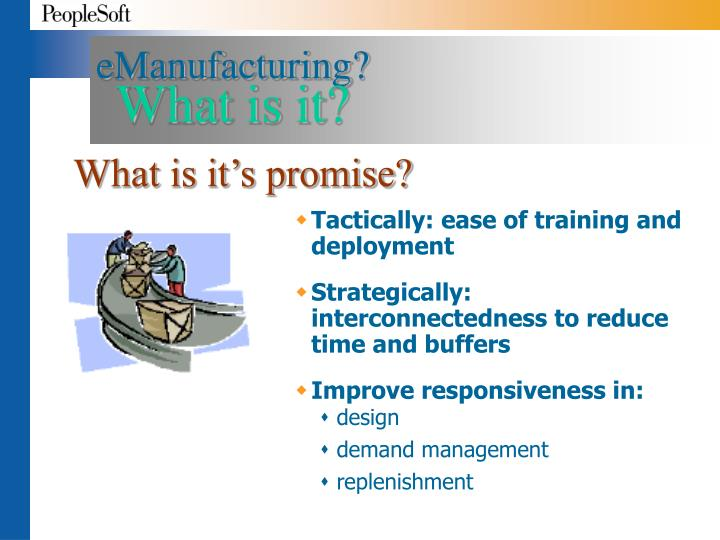 eManufacturing?