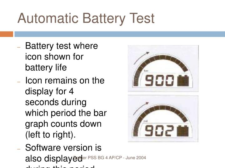 Automatic Battery Test