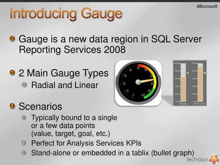 Introducing Gauge