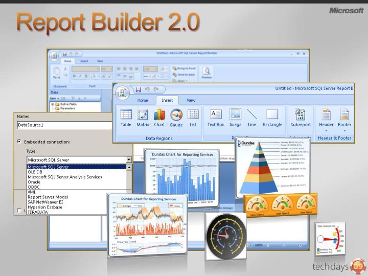 Report Builder 2.0