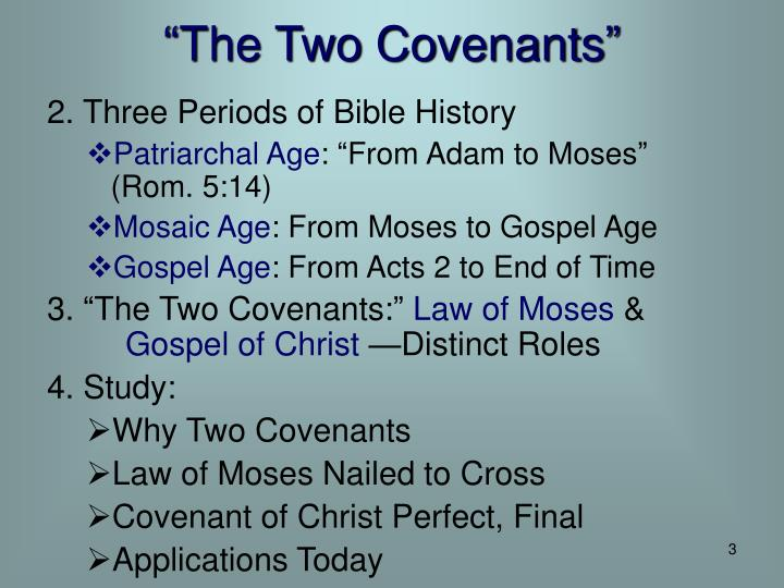 The two covenants1