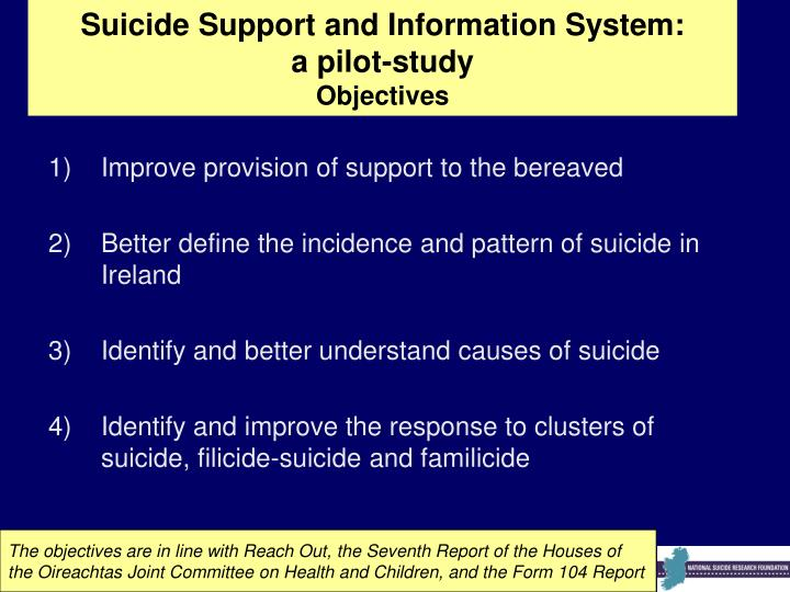 Suicide Support and Information System: