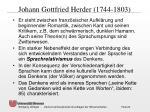 johann gottfried herder 1744 1803