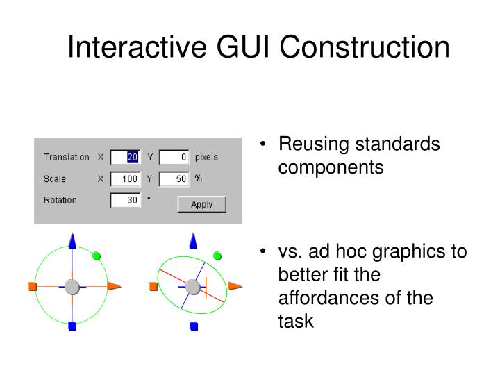 interactive gui construction n.