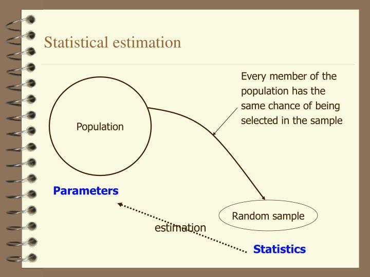 Statistical estimation