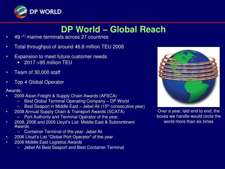 Dp world global reach