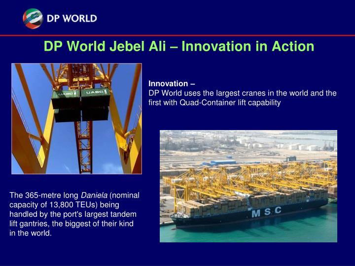 DP World Jebel Ali – Innovation in Action