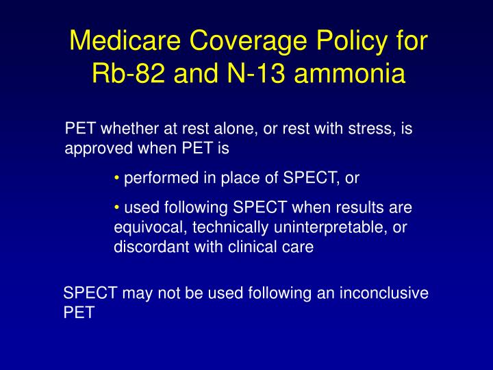 Medicare Coverage Policy for