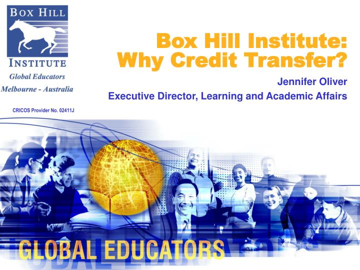 Box hill institute why credit transfer