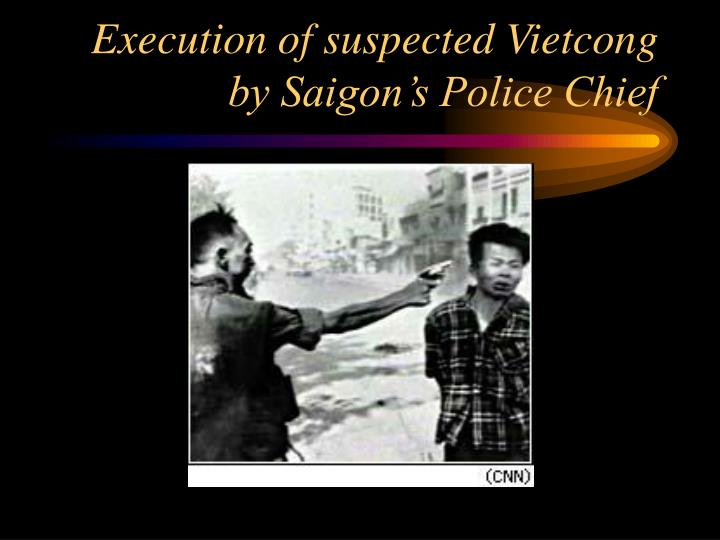 Execution of suspected Vietcong by Saigon's Police Chief