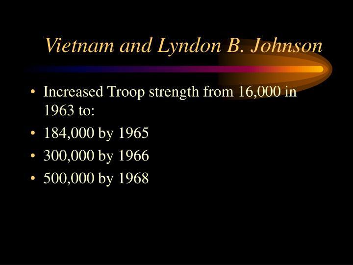 Vietnam and Lyndon B. Johnson