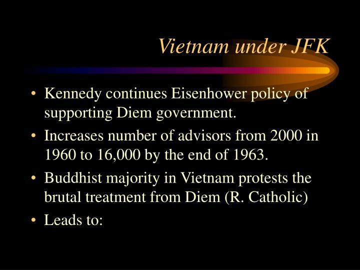 Vietnam under JFK